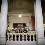 Sunrise Movement Climate Activists in Boston