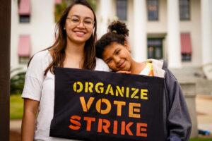 Sunrise Movement Organize Vote Strike
