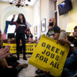What is the Green New Deal? (Sunrise Movement Pelosi office action)