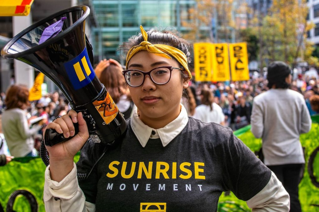 Sunrise Movement Activist