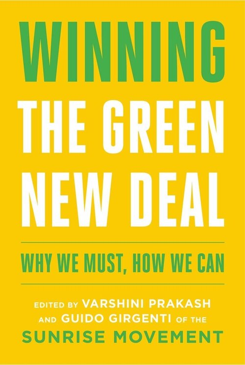 "Cover of the book ""Winning the Green New Deal"""