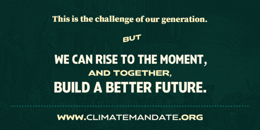 Climate Mandate Generation Banner