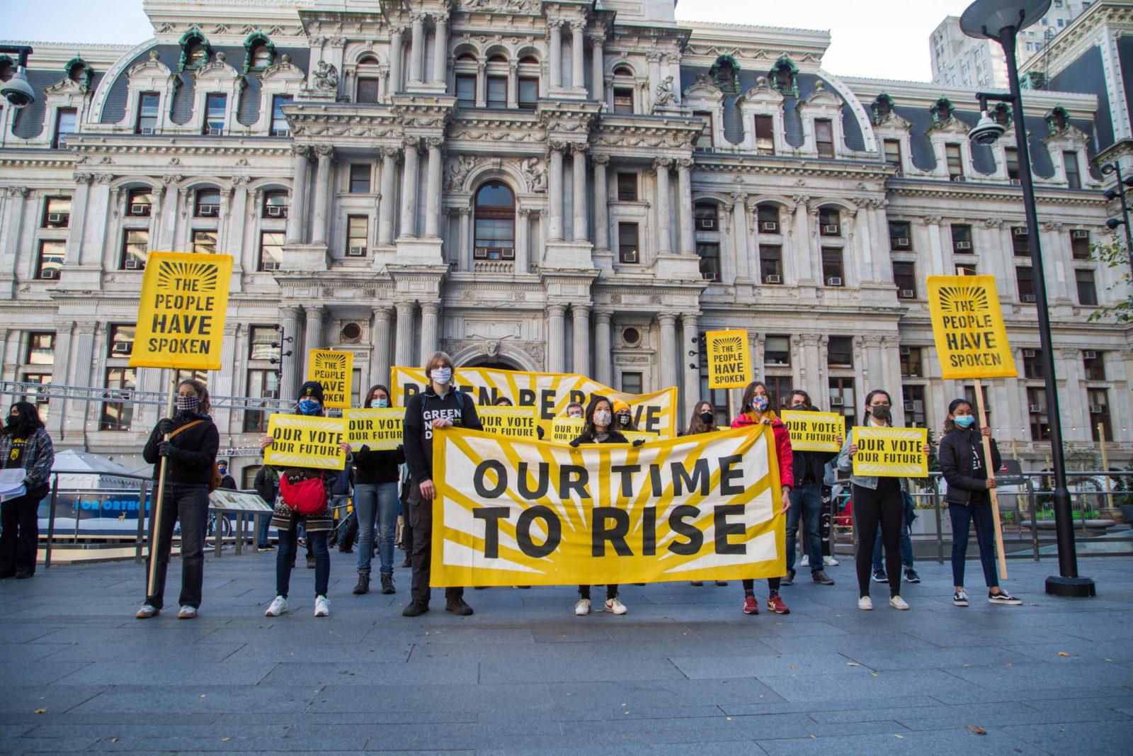 Philly 2020.10.16 Wake Up Biden Cole Sansom 22