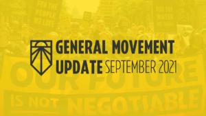 General Movement Update September 2021